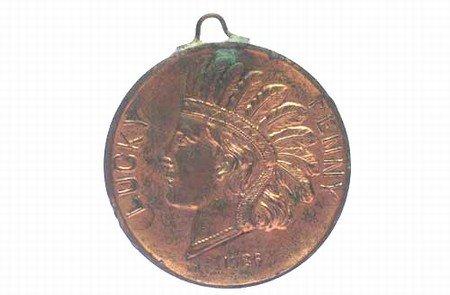 1926 Lucky Penny ~ Niagra Fall Souvenir