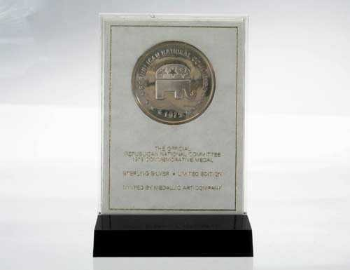 Sterling Republican Commemorative Coin~Gerald Ford