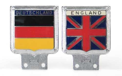 England & Deutschland ~ Bumper Ornaments