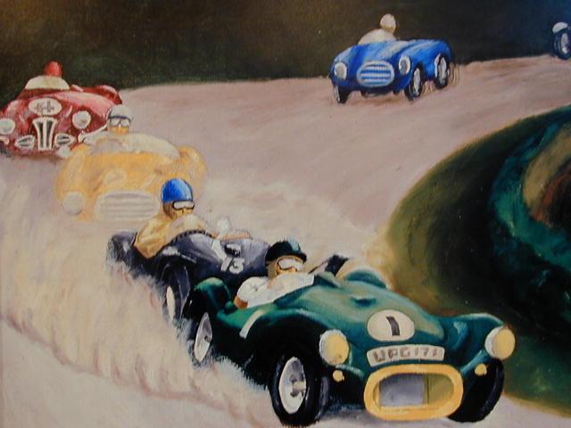 Framed Racecar Print - Joseph Wahl