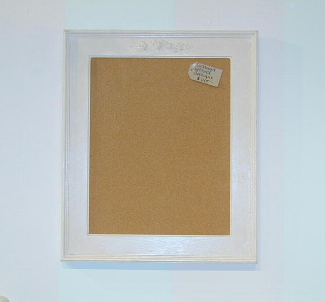 Corkboard with Floral Applique