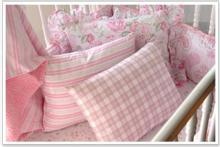 Girl's Crib Bedding