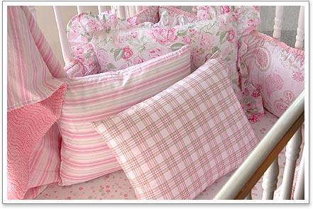 Girl's Crib Bedding