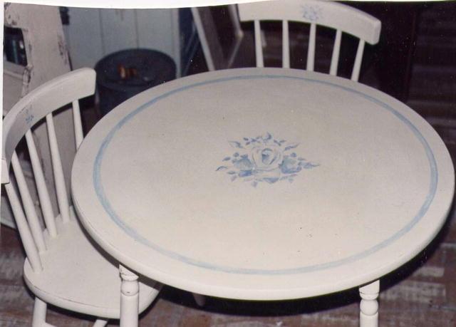 Child's Round Table