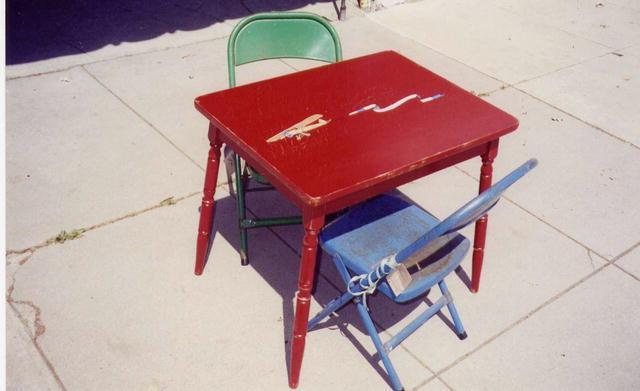 Child's Rectangular Table