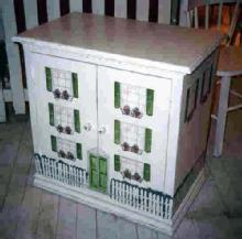 Dollhouse Side Cabinet