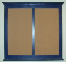 Double Crown Top Corkboard or Chalkboard