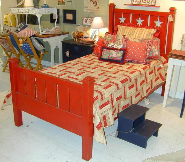 Star Bed and Slat Bed