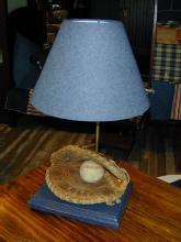 Boy's Baseball Lamp