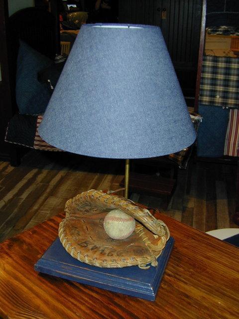Boy's Baseball Lamp