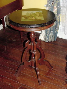 VICTORIAN SLATE TOP TABLE