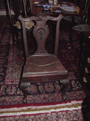PHILADELPHIA CHIPPENDALE  CENTENNIAL SIDE CHAIR