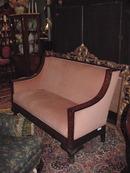 19TH CENTURY INALAID WALNUT SETTEE