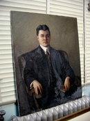 Oil  on Canvas Portrait of Dr. Walfrido de Leon Manila,P.I.