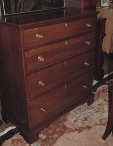 American Poplar Chest  of Drawers