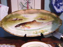 Limoges Fish Platter and Sauce Boat with Underplate