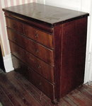 Oak Campaign Chest of Drawers