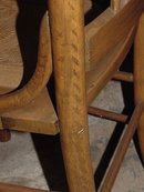SET OF 6 HICKORY CHAIRS
