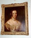 19th  Century English Portrait of Lady