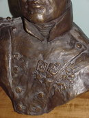 Molten Cast Bronze Bust of Napoleon