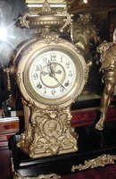American Figural Mantle Clock