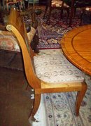 SET OF FOUR BIEDERMEIR STYLE SIDE CHAIRS