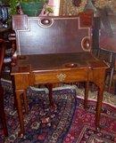 GEORGE II MAHOGANY GAMES TABLE