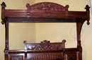 FINE AMERICAN AESTHETIC CARVED MAHOGANY BEDROOM SUITE