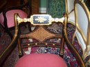 SET OF TEN REGENCY STYLE ARMCHAIRS