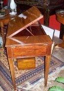 DIRECTOIRE MAHOGANY DRAFTING TABLE