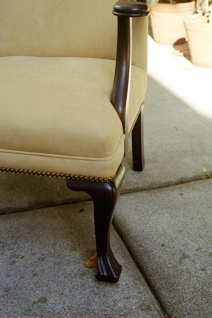 Queen Ann armchair