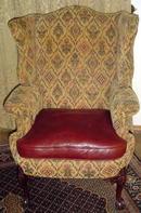 Mahogany Wing Chair