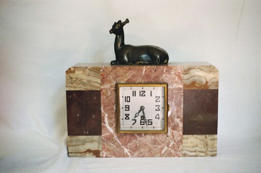 Art Deco Marble Clock