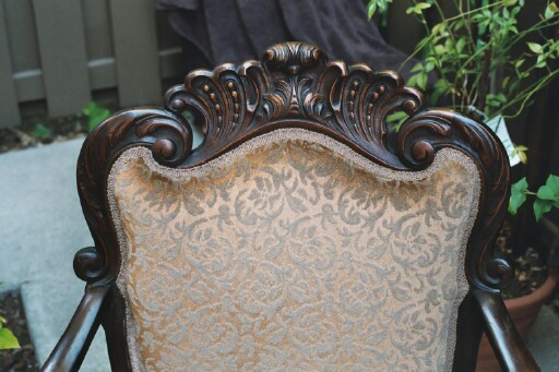 Victorian Rococo style Arm chair