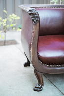 Empire Chair w/ Lion's head motif