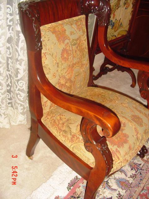 Empire Mahogany Chair