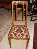 French Art Nouveau chairs