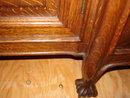Art Nouveau Oak Breakfront