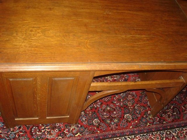 Antique Oak Child Desk