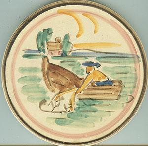 Finland Hand Painted Trivet