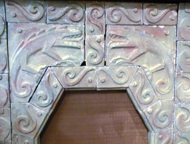 Tile Fireplace Surround Arts & Crafts