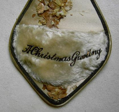 Victorian Christmas jewlery holder