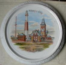 Atlantic City Tile  Souvenir 1900