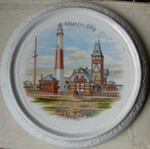 Atlantic City Tile  Souvenir 1900