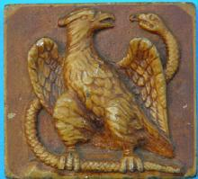 Eagle & Snake Architectural Tile