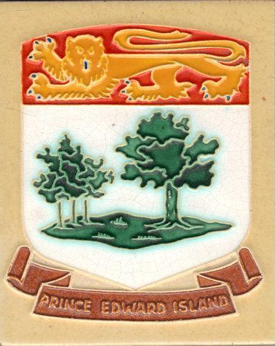 Westraven Tile  Flag of Prince Edward Island