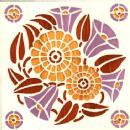 Antique Art Nouveau Tile reduced to 95.00