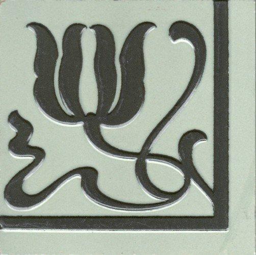 Art Nouveau Tile  German