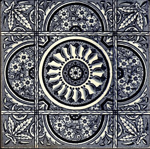 Antique Transfer Tile