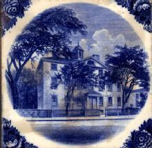 English Historic Tile Wedgwood Marblehead, MA